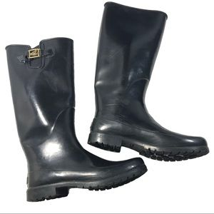 SPERRY tall rain boots Top Sider pelican too